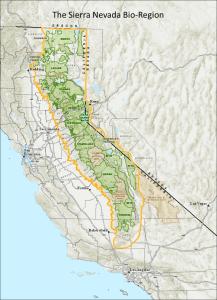 SierraNevadaBioRegionMap