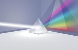 Luz blanca y colores